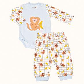 Pijama-Bebe-Pima-Basics-Bananas-Cookie-Dreams