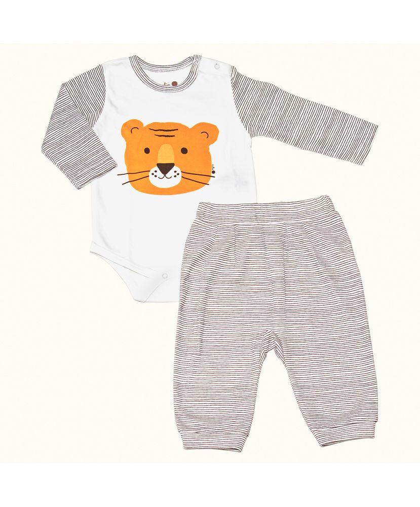 Pijama-Bebe-Pima-Basics-Tigre-Cookie-Dreams