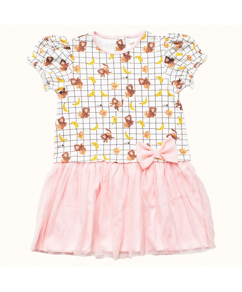 Camisola-Infantil-Pima-Mathilda-Bananas-Cookie-Dreams