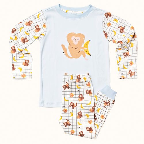 Pijama-Infantil-Pima-Mr-Cookie-Bananas-Cookie-Dreams