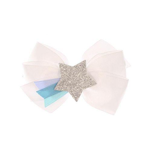 Laco-Infantil-Estrela-Glitter-Prateada