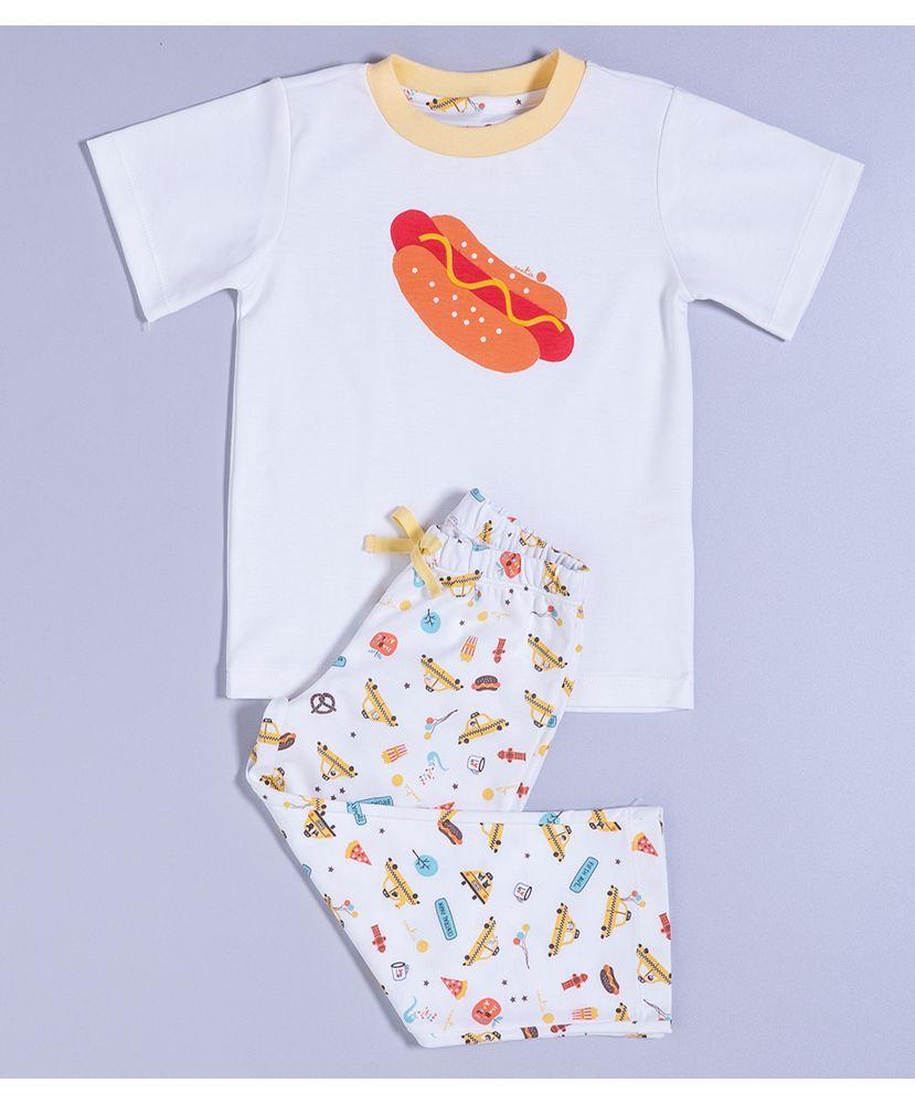 Pijama-Infantil-Algodao-Pima-Mulberry-New-York-City-Cookie-Dreams