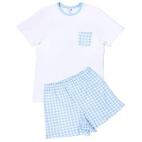 Pijama-Masculino-Pima-Daddy-Vichy-Azul-da-Cookie-Dreams-