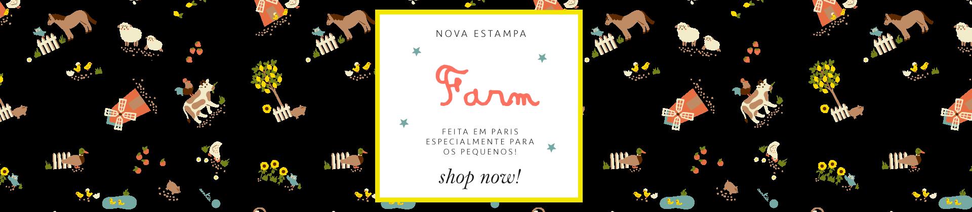 Estampa Farm Cookie Dreams Pijamas Algodão Pima Peruano