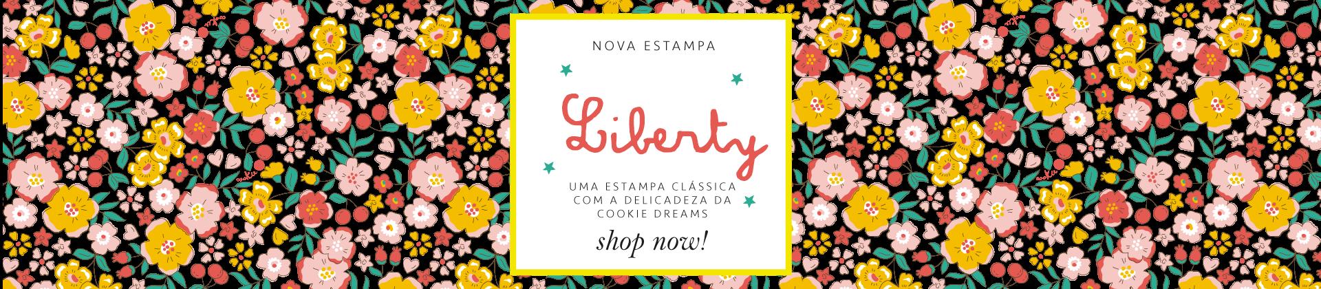 Estampa Liberty Cookie Dreams Pijamas Algodão Pima Peruano Infantil