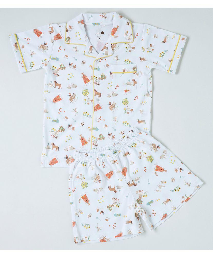 Pijamas-Infantis-de-Algodao-Pima-Peruano-da-Cookie-Dreams