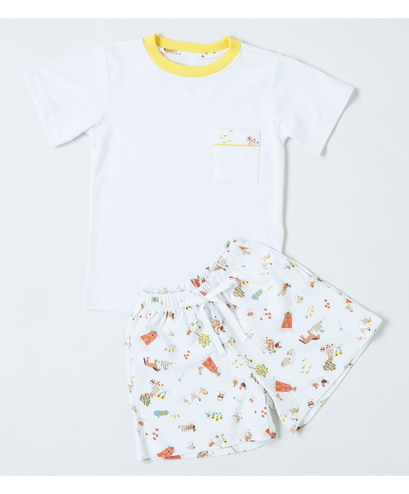 Pijama-Infantil-Algodao-Pima-Apple-Farm-Cookie-Dreams