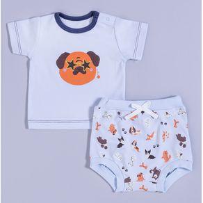 Pijama-Bebe-Algodao-Pima-Muffin-Puppy-Lover-Cookie-Dreams