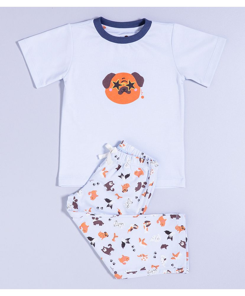 Pijama-Infantil-Algodao-Pima-Mulberry-Puppy-Lover-Cookie-Dreams