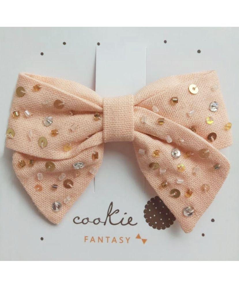 Laco-Infantil-Claire-Linho-Pessego-Cookie-Dreams