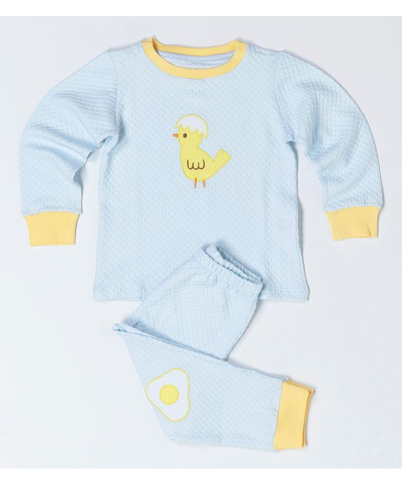 Pijama-Infantil-Winter-Celeste-Pintinho