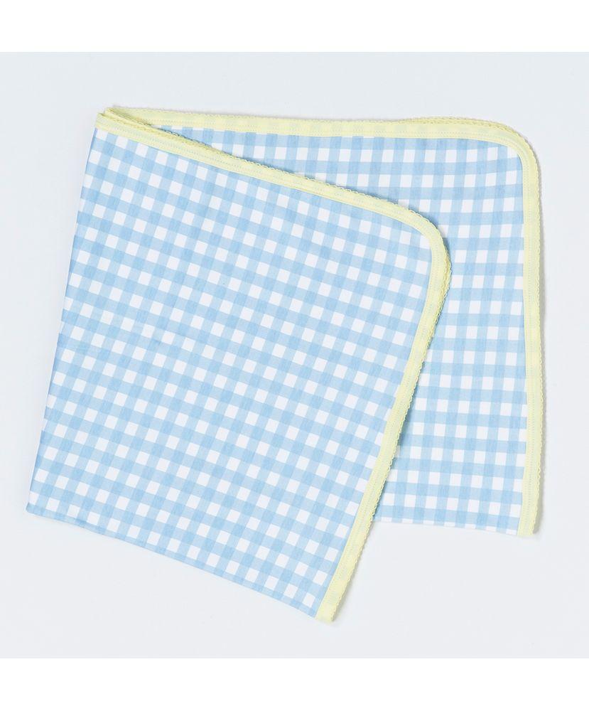 Manta-Bebe-Algodao-Pima-Vichy-Azul