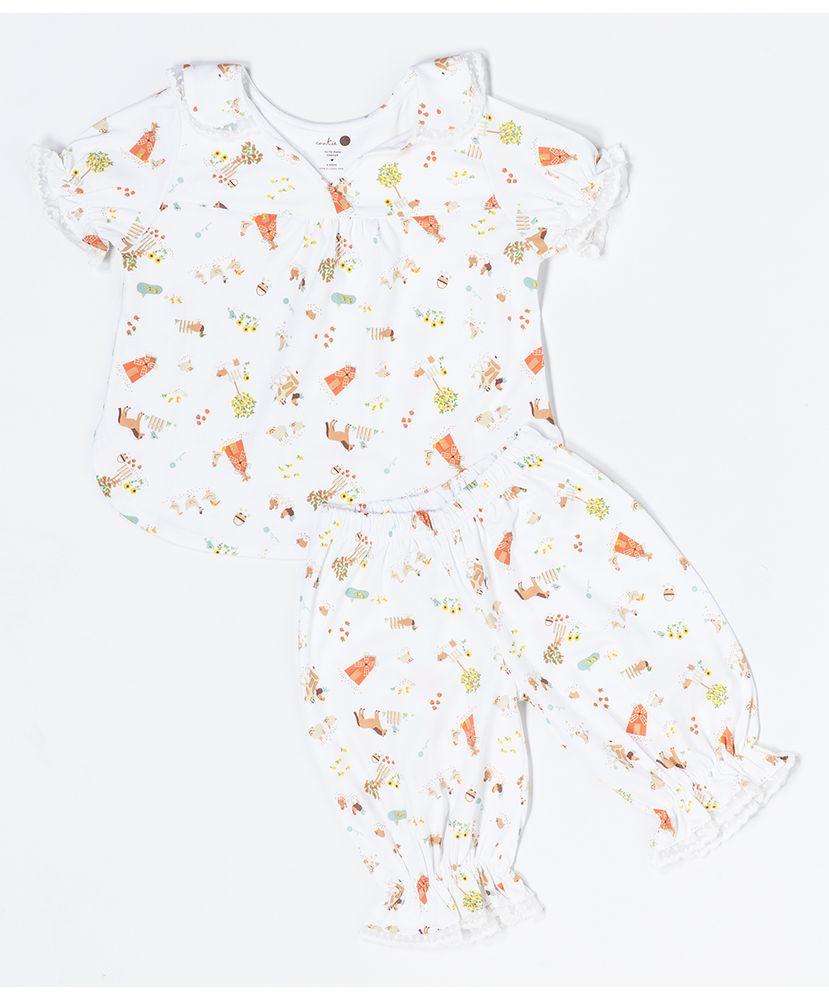 Pijama-Infantil-Algodao-Pima-Beijinho-Farm