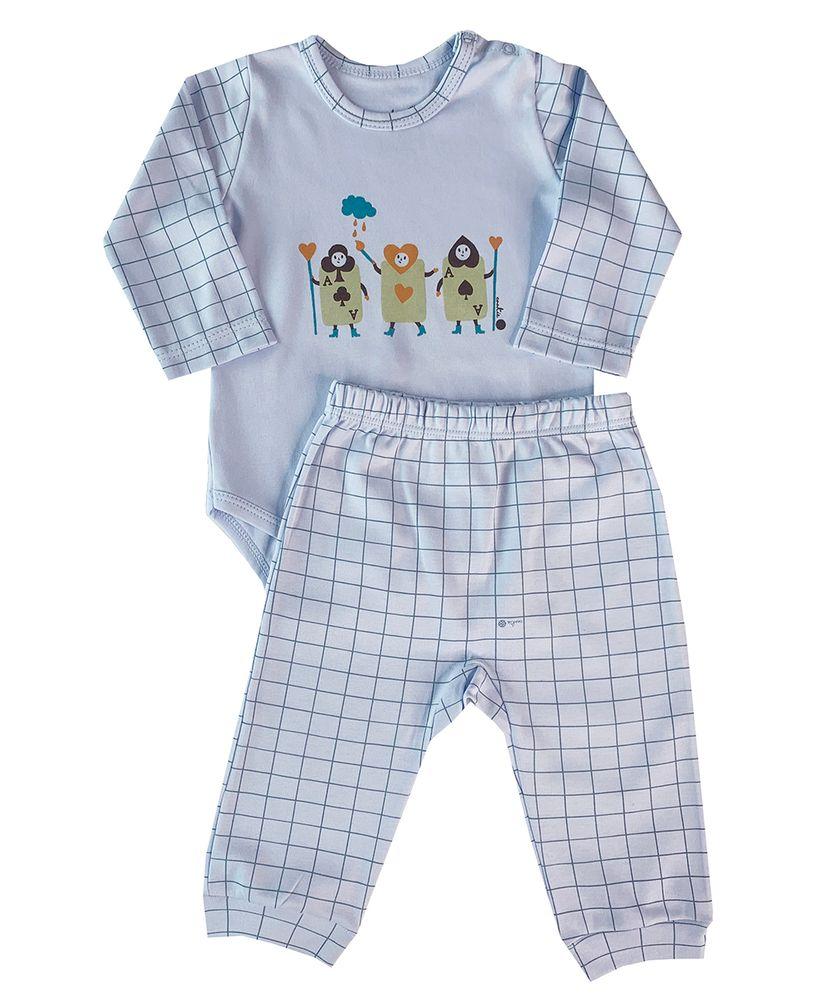 Pijama-Bebe-Algodao-Pima-Basics-Chess