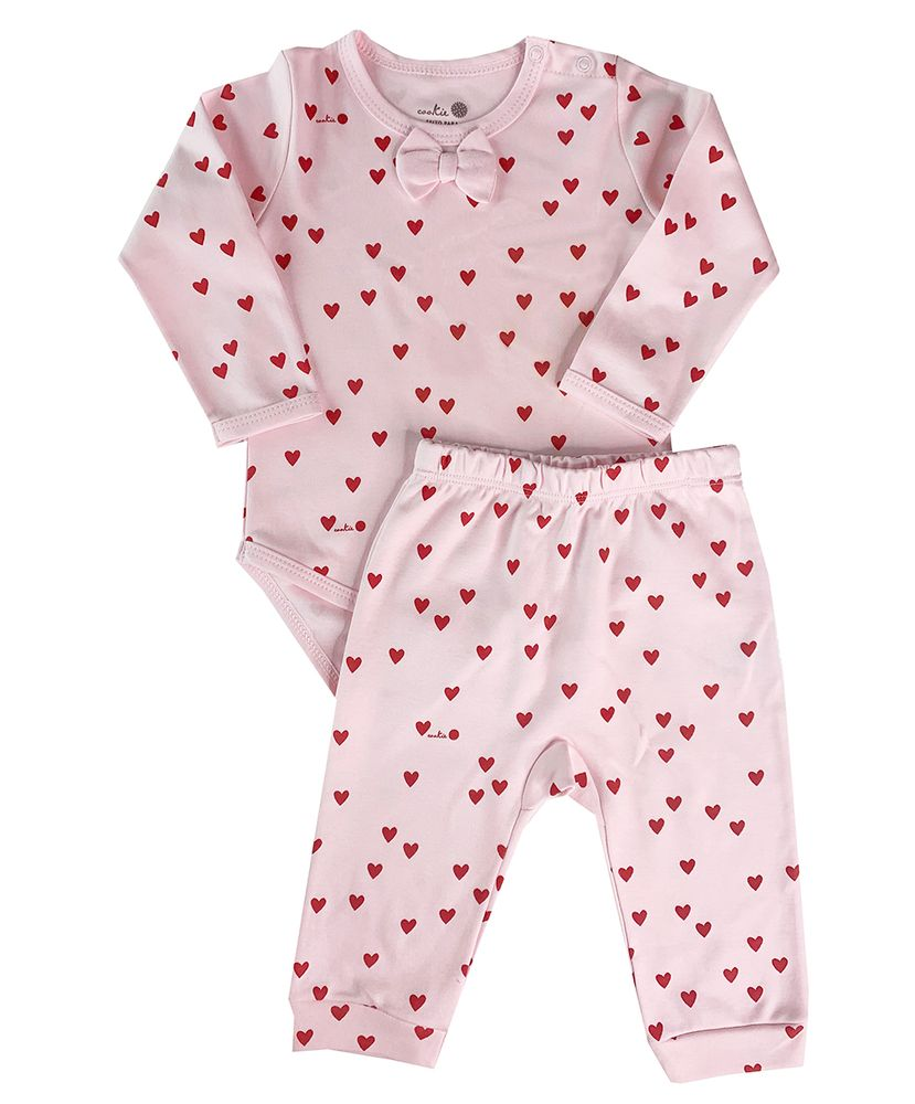 Pijama-Bebe-Algodao-Pima-Ballerina-Queen-of-Hearts