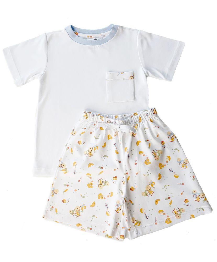 Pijama-Infantil-Algodao-Pima-Apple-Picnic