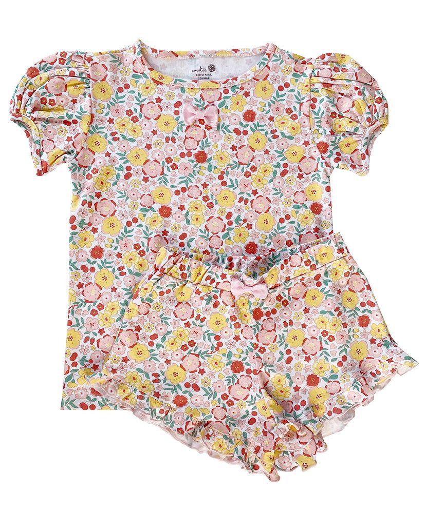 Pijama-Infantil-Algodao-Pima-Sunflower-Liberty