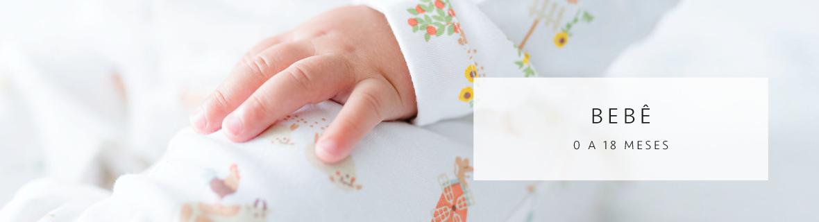 Roupas de Bebê em Algodão Pima Peruano