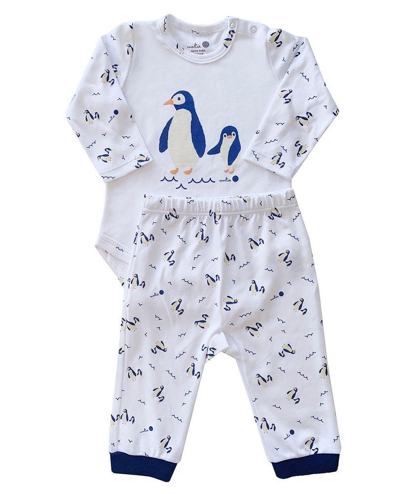 Pijama-Bebe-Algodao-Pima-Basics-Pinguim-Cookie-Dreams