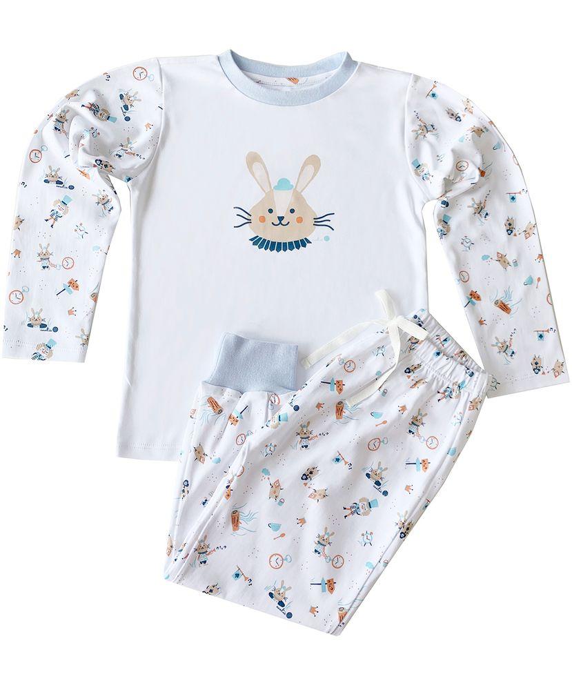 Pijama-Infantil-Algodao-Pima-Mr-Cookie-Coelho
