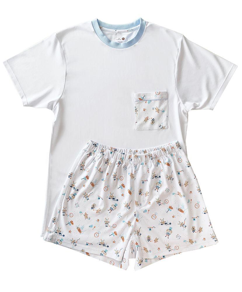 Pijama-Masculino-Algodao-Pima-Daddy-s-Coelho-Cookie-Dreams