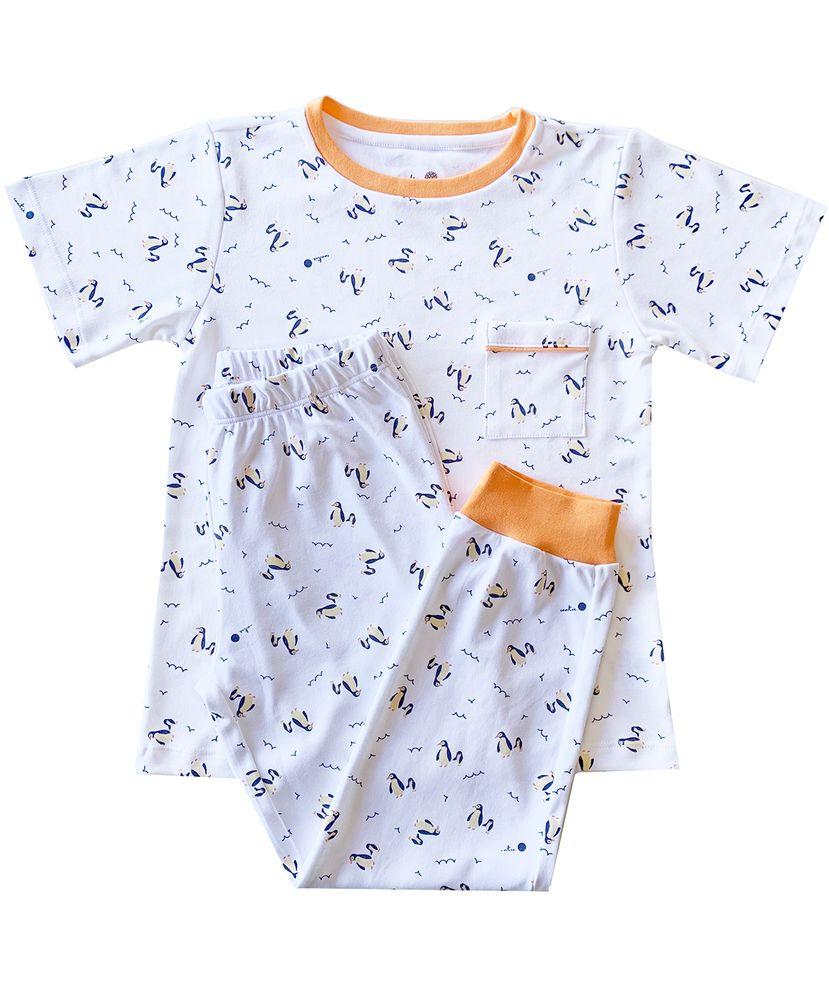 Pijama-Infantil-Algodao-Pima-Mulberry-Pinguim-Cookie