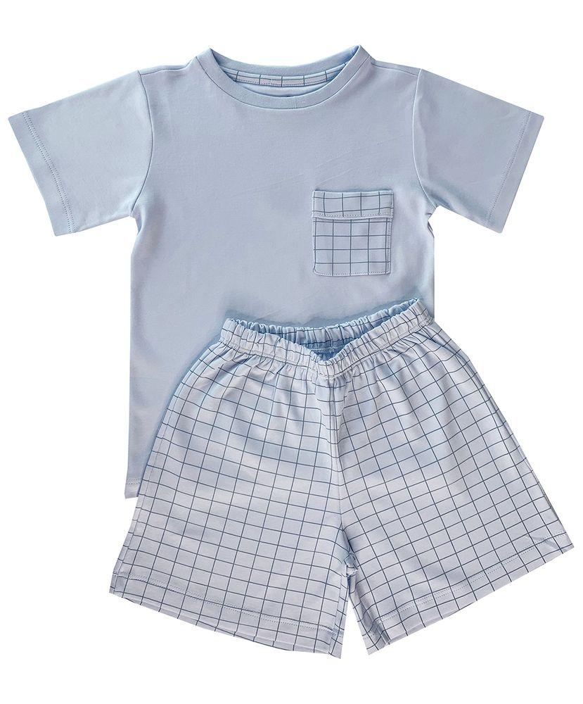 Pijama-Infantil-Algodao-Pima-Apple-Chess-Cookie-Dreams