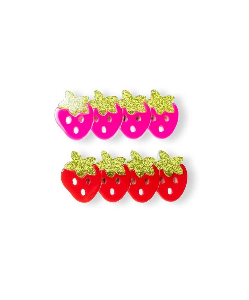 Kit-Bico-de-Pato-Infantil-Morango-Vermelho-e-Rosa